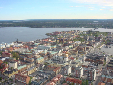Luleå city from above by Pihlbaoge