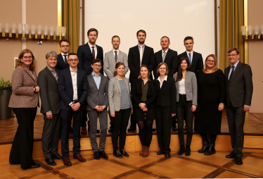 Four PhD Candidates of ERCIS awarded Summa Cum Laude