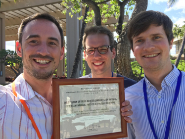 Best Paper Award at the 51st HICSS