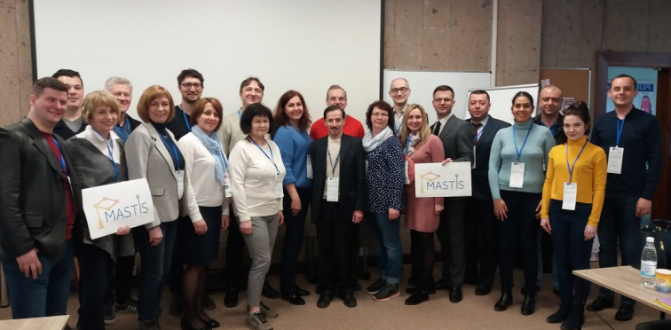 The last working meeting of the international MASTIS project of European programm ERASMUS+ at Vinnitsa National Technical University